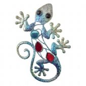 Small Gem Gecko Wall Plaque - 3 Colours